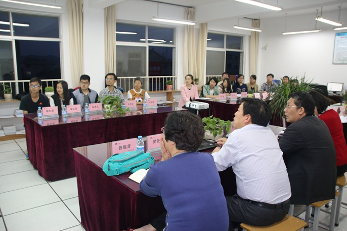 台湾南开科技大学师生到经济与管理学院交流讲学